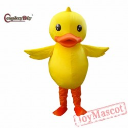 Giant Duck Mascot Costume Cartoon Animal Mascot Cosplay Costumes For Adult