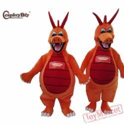 Mascot Costume Monster Curry Dragon Cartoon Mascot Costumes Mascot