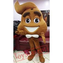 The Emoji Movie Mascot Costume Adult Costume The Emoji Poop Mascot Costume