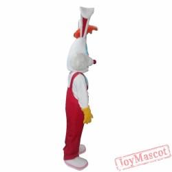 Mascot Costume Roger Rabbit Mascot Costume Cosplay For Christmas
