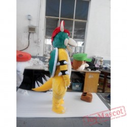 Cospalydiy Super Mario Yoshi Dragon Turtle Mascot Animal Costume
