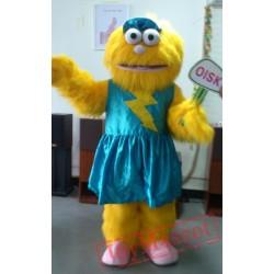 Zoe Mascot Costume Celebration Carnival Outfit