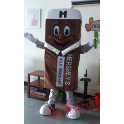 Chocolate Ice Cream Mascot Costume Plush Cartoon Costumess
