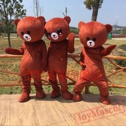 Kawaii Big Brown Japanese Style Rilakkuma Mascot Costume