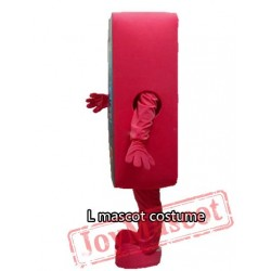 Cell Phone Apple Iphone 5C Mascot Costume