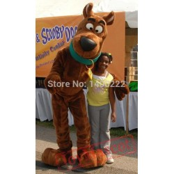 Brown Snoopyy Dog Scooby Doo Mascot Costume