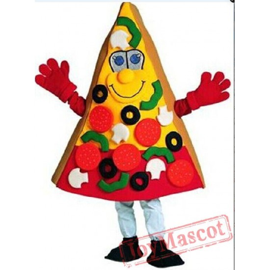 Pizza Mascot Costume Christmas Carnival Performance Clothing