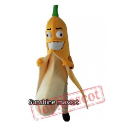 Evil Banana Mascot Costume Halloween / Christmas Show Mascot Costume