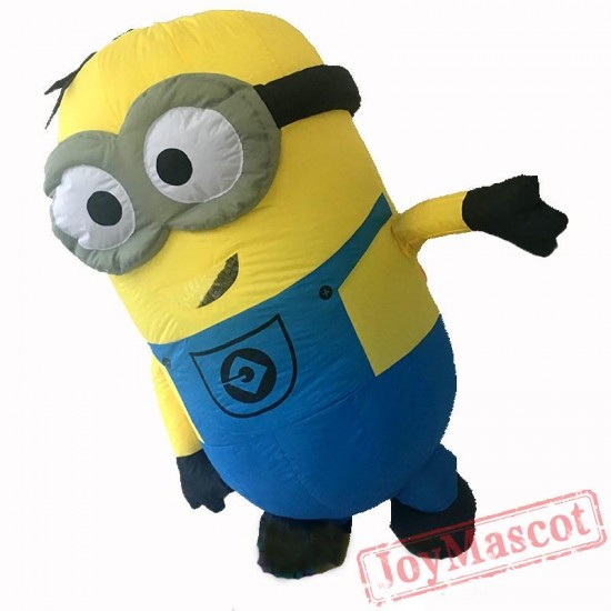 Adult Minion Costume Inflatable Mascot Costume