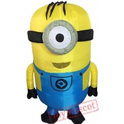 Adult Minion Costume Mascot Costume