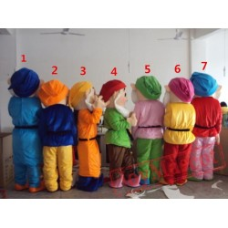 Seven Dwarfs Mascot Costumes