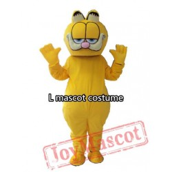 Garfield Mascot Fursuit Cat Mascot Costume Carnival