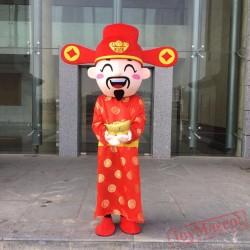 God Of Fortune Costume Bear Minion Mascot Costumes Costume
