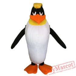Baby Penguin Mascot Costume The Antarctic Animal Black Panther Cosply Costume