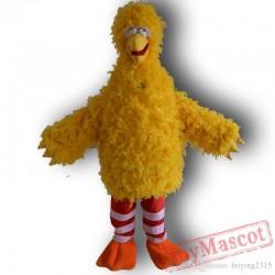 Sesame Street Big Yellow Bird Mascot Costume Cartoon Costume