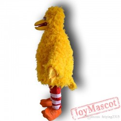 Sesame Street Big Yellow Bird Mascot Costume Cartoon Costume