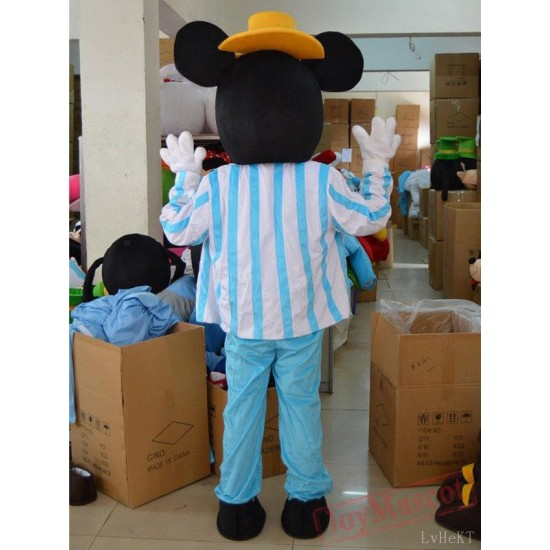 Disney Navy Blue Mickey Mouse Mascot Costume