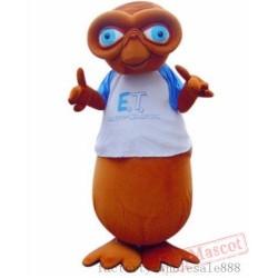 Halloween Deluxe E.T.Alien Mascot Costume