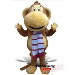 Big Mouth Monkey Mascot Costume