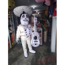 Ernesto De La Cruz Coco Movie Mascot Costume