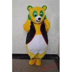 Halloween Cosplay Agent OSO Bear Mascot Costume