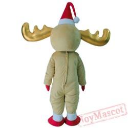 Deer Reindeer Mascot Costume