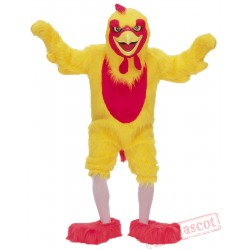 COMICAL CHICKEN MASCOT COMPLETE ADULT COSTUME