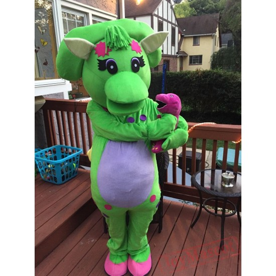 Baby Bop Mascot Costume