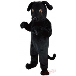 Black Lab Dog Lightweight Mascot Costume