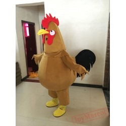 New Rooster Mascot Suit Parade Costume