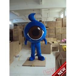 Eyes Baby Mascot Costume