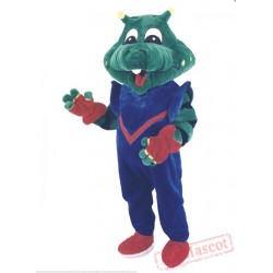 Crocodile Mascot Costume for Adults