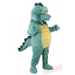 Crocodile Mascot Cartoon Character Costume Cosplay Mascot