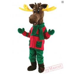 Christmas Reindeer Milu Deer Costume Mascot Costume