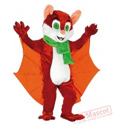 Bat Mascot Costume for Adults
