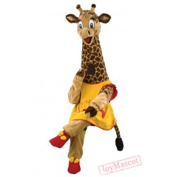 Giraffe Costume Mascot Costume for Adults