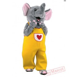 Elephant Mascot Costume for Adults