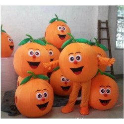 Fruit Mascot Costume Pumpkin Cartoon Costume