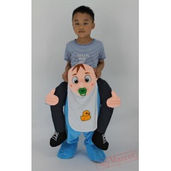 Kids Ride On Mascot Costume Cartoon Character Funny Mascot for Children