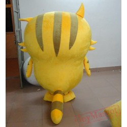High Quality Yellow Cat Mascot Costumes for Kids
