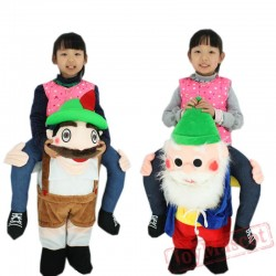 Children Christmas Santa Claus Costume