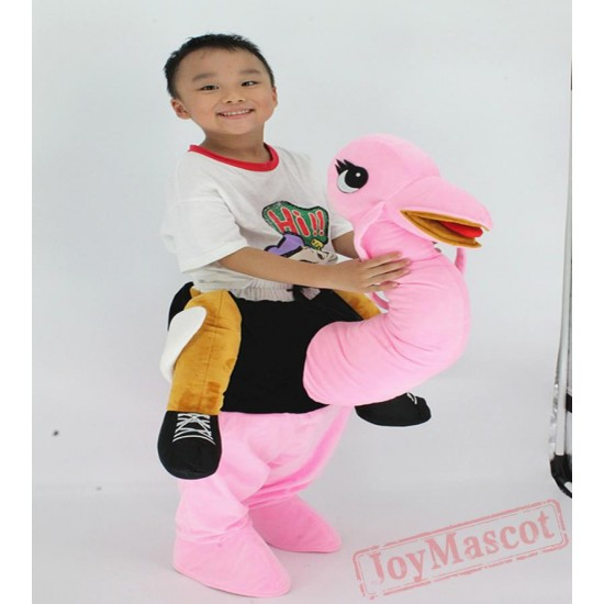 Funny Animal Pants Kid Ride On Ostrich Children Costumes