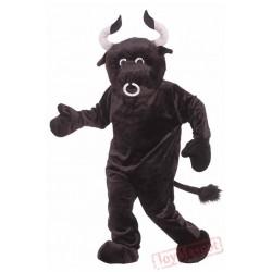 Brown Bull Mascot Costumes