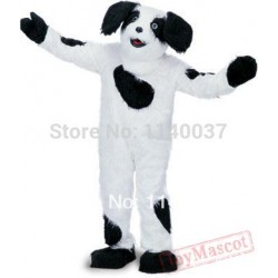 Black & White Sheepdog Mascot Costume