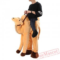 Camel Piggyback Ride On Carry Me Mascot costume