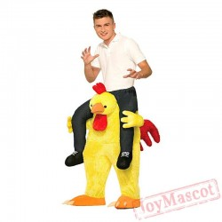 Chicken Piggyback Ride On Carry Me Mascot costume