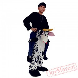 Cattle Piggyback Ride On Carry Me Mascot costume