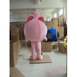 Big Eye Mascot Costume