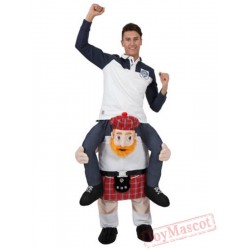 Animal Piggyback Ride On Carry Me Mascot costume