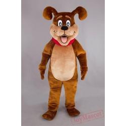 Christmas Dog Mascot Costume